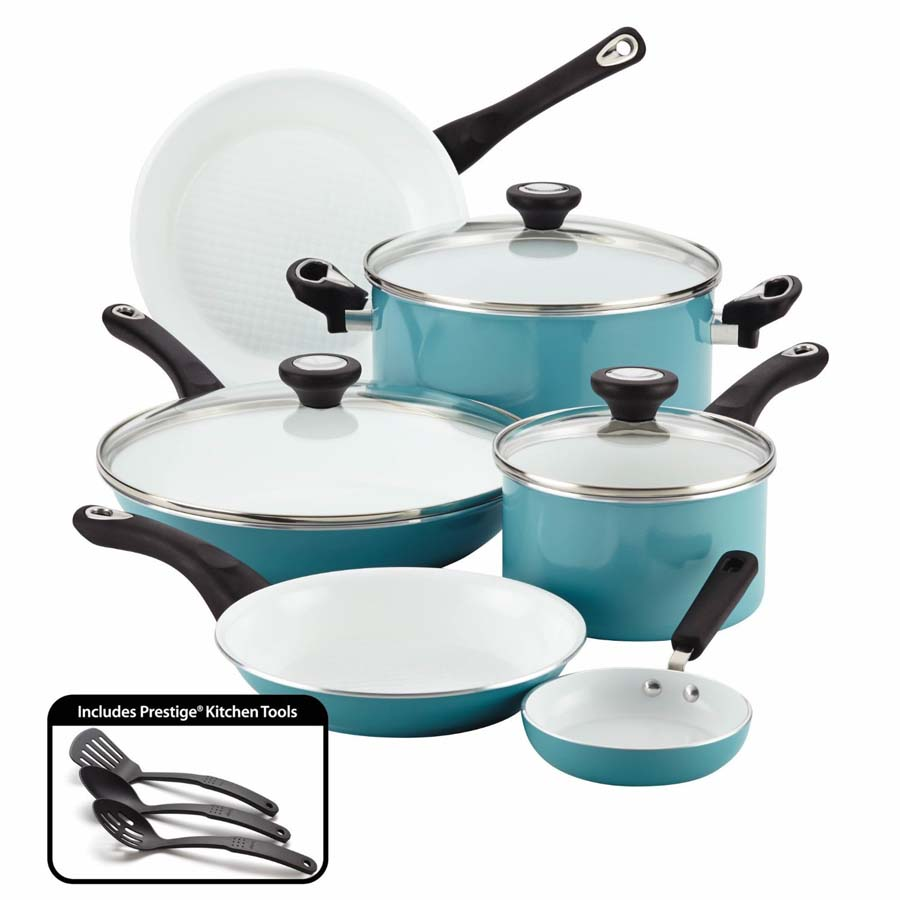 Farberware Purecook Ceramic Nonstick Cookware 12 Piece ...