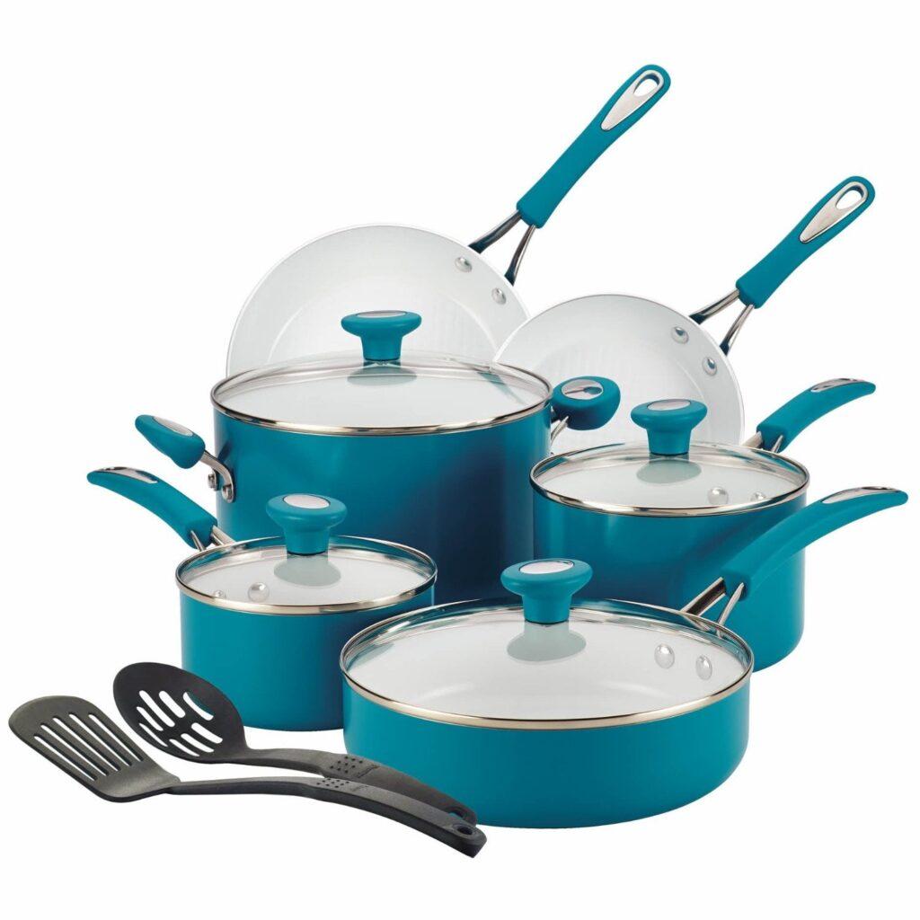 SilverStone Ceramic CXi Nonstick 12-Piece Cookware Set