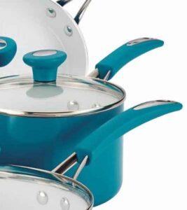 SilverStone Ceramic CXi Nonstick 12-Piece Cookware Set eco friendly