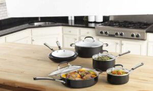 Simply Calphalon Ceramic Nonstick Set 10 Piece Black tips for using