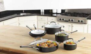 Simply Calphalon Ceramic Nonstick Set 10 Piece Black tips for using