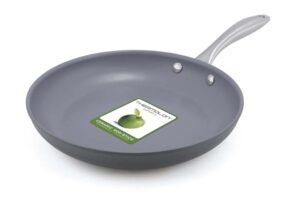 GreenPan 12 Piece Lima Hard Anodized Nonstick Ceramic Cookware Set Single fri pan