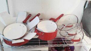 WearEver C943SF Pure Living Nonstick Ceramic Cookware set lifetime warranty
