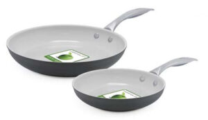 Greenlife 12 piece hard anodized nonstick ceramic classic cookware set pot