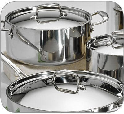 Best Stainless Steel Cookware In 2018 By Chef Shelly Rhoades