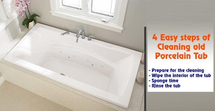 Best Way To Clean An Old Bathtub  TcWorks.Org