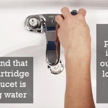 Repair Procedure of a Double Handle Cartridge Faucet