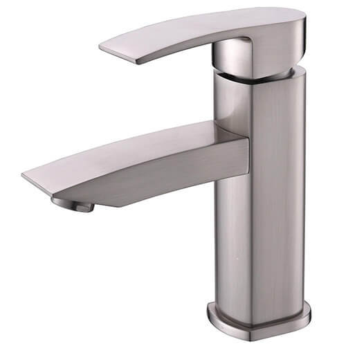Hotis Widespread Single Handle Single Lever Centerset Stainless Steel Lavatory Bathroom Vanity Faucet