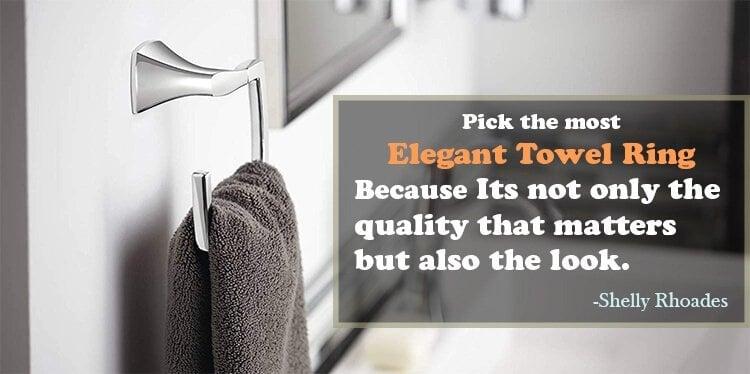 Best Towel Ring In 2019 Elegant Home Improvement Tips
