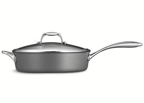 Tramontina 80123 or 009DS Gourmet Heavy-Gauge Aluminum Nonstick Covered Deep Saute Pan