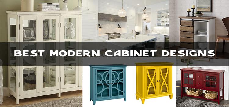 modern cabinet design for kitchen